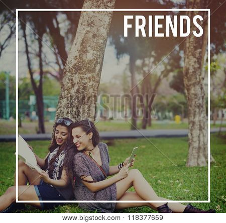 Friends Friendship Partnership Support Friendliness Concept