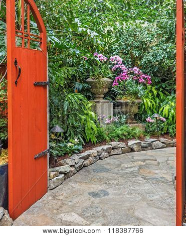 Indoor Garden Passage