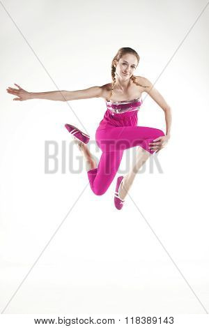 Dancer in pink