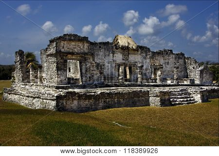 A Wild Angle Of The Tulum  In  Mexico America