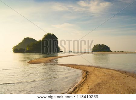 Idyllic Seascape Nature And Nobody