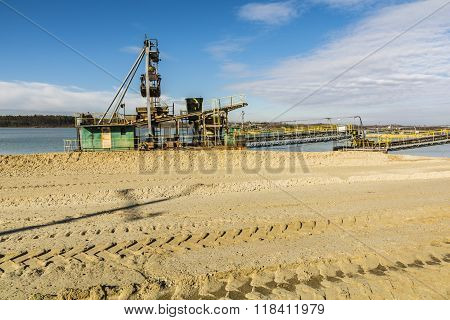 Dredge In Anticipation Of The Work.