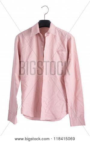 Pink Creased Shirt