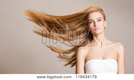 Amazing Flowing Hair.