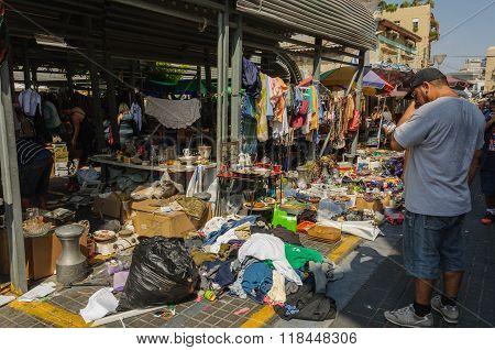 Flea market - so many to choose from...