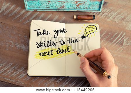 Written Text Take Your Skills To The Next Level