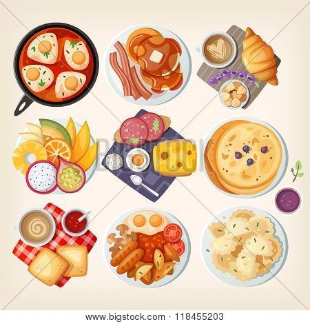 Traditional Breakfasts All Over The World.