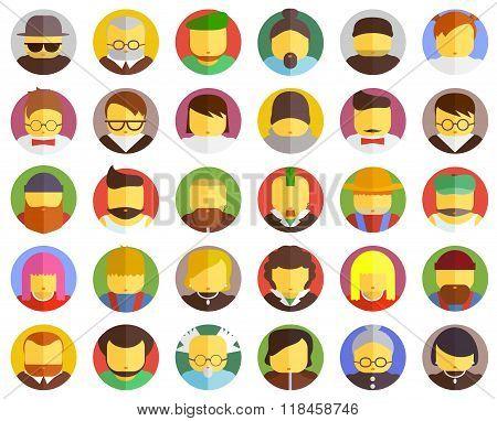 Vector Face Icon