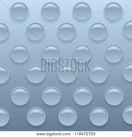 Blue Bubblewrap Background.