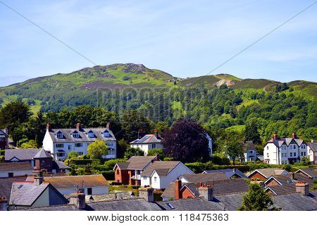 Welsh countryside on the outskirts of Conwy