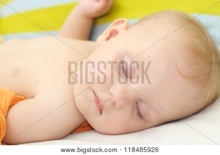 Little Baby Portrait Sleeping