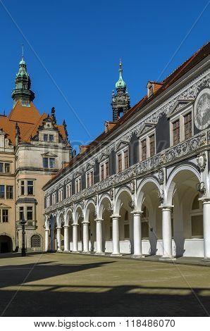 Langer Gang (long Corridor), Dresden,germany