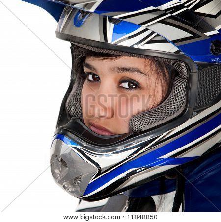 Young Latina Racer
