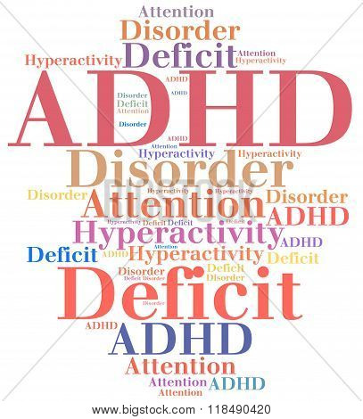 Adhd - Attention Deficit Hyperactivity Disorder.