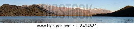 Evening Panoramic View Of Rara Daha Or Mahendra Tal Lake