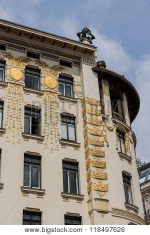 austria, vienna, wien row houses poster