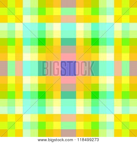 Vector Seamless Yellow Background