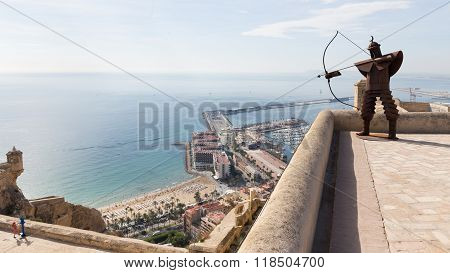 Fortress Of Santa Barbara, Spain