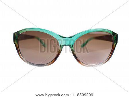 Womens Green Sunglasses