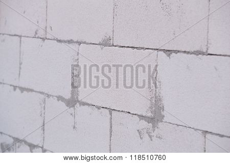 White Lightweight Concrete Block, Foamed Concrete Block, Raw Material For Industrial Wall