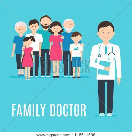 Extended Family and Medical Doctor or Physician