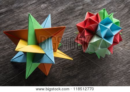 Couple of  origami