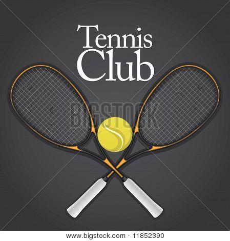 Tennis Design Element Set 1