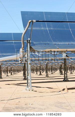 Solar panels for alternative energy