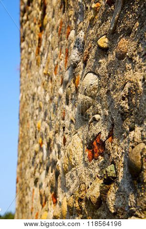 Wall Milan  In Italy Old   Church Concrete Wall  Brick