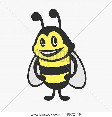 Little bee character