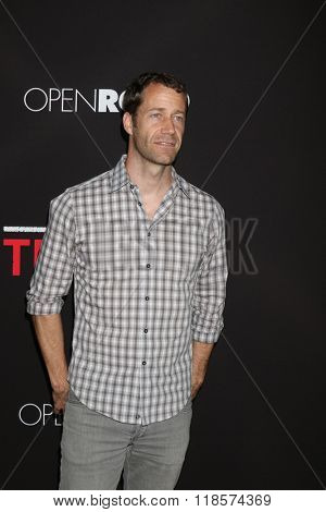 LOS ANGELES - FEB 16:  Colin Ferguson at the Triple 9 Premiere at the Regal 14 Theaters on February 16, 2016 in Los Angeles, CA