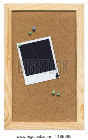 Corkboard With Empty