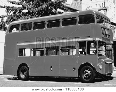 London Routemaster red double decker bus