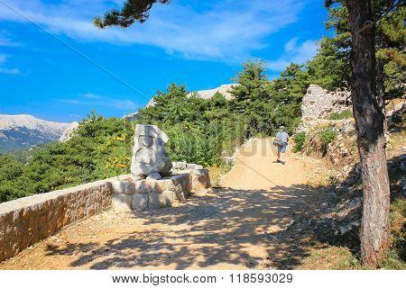 Island Of Krk Moon Plateau Trail