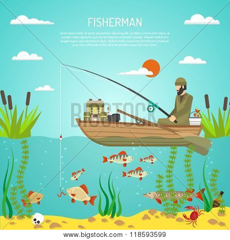 Fisherman Color Design Concept