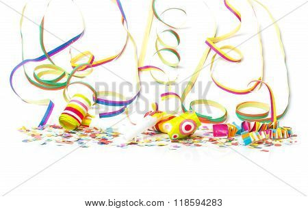 Carnival, Confetti, Colorful Background