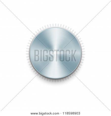 Metal Volume Button.