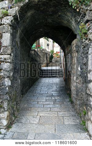 Arched passage in the Old City
