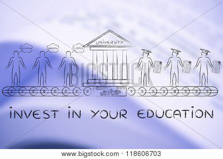 Invest In Your Education, From Students To Graduates