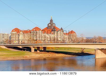 Dresden. Saxon State Chancellery.