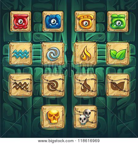 Jungle Shamans Gui Booster Buttons Kit