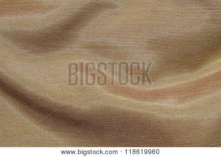 Closeup Brown Fabric Texture Background
