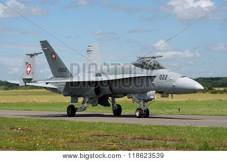 Wiss Air Force F-18 Hornet