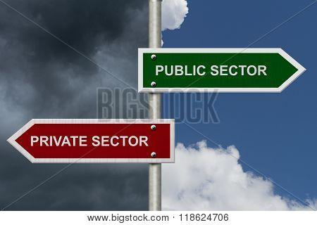 Public Sector Versus Private Sector