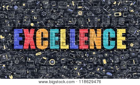Excellence in Multicolor. Doodle Design.