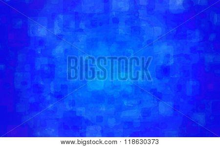 A blue, random watercolor background