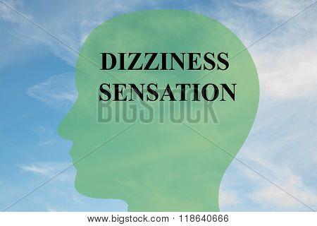 Dizziness Sensation Concept