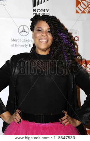 LOS ANGELES - FEB 10:  Tracy 'Twinkie' Byrd at the African American Film Critics Association 7th Annual Awards at the Taglyan Complex on February 10, 2016 in Los Angeles, CA