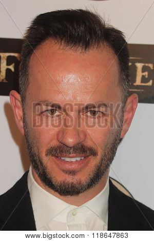 LOS ANGELES - FEB 16:  Greg Ellis at the Forsaken Los Angeles Special Screening at the Autry Museum of the American West on February 16, 2016 in Los Angeles, CA