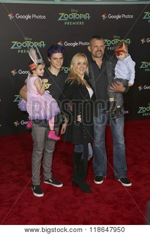 LOS ANGELES - FEB 17:  Chuck Liddell at the Zootopia Premiere at the El Capitan Theater on February 17, 2016 in Los Angeles, CA